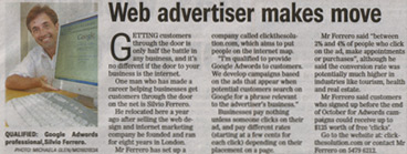 Courier Mail | Web advertiser makes move